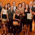Ganadora del premio a las mejores tesis. XXIV Premio de Investigación ExITAM