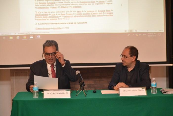 Dr. Carlos Mc Cadden y Dr Javier Espino Martín