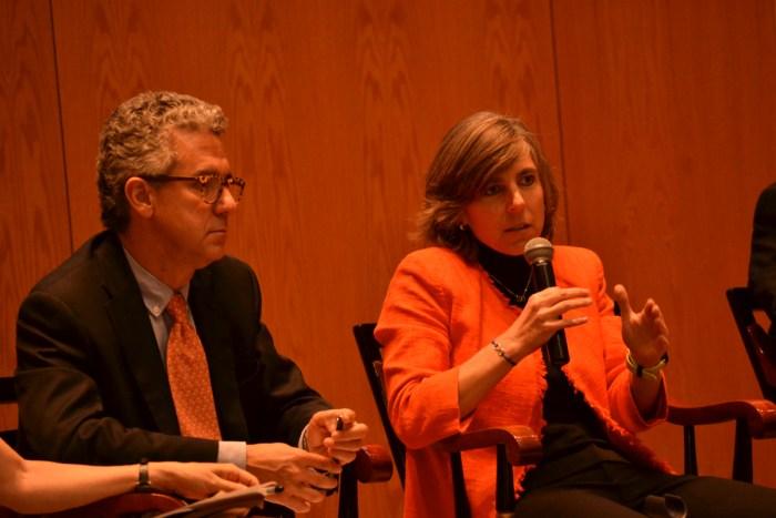 Hugo Concha y Christiane Fábrega