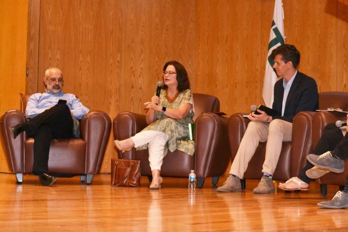 Daniel Moreno, Cecilia Soto y Rafael Prieto Curiel