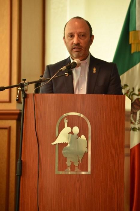 Alonso Guerrero Arteaga, CESSA viceprincipal.