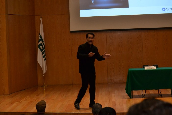 El Mtro. Enrique Hernández-Villegas dio una conferencia sobre la mediación como proceso reconciliatorio