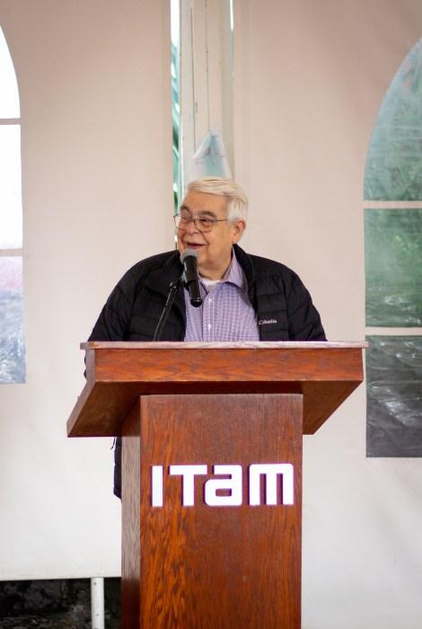 Dr. Enrique de Alba, cofundador de la Licenciatura en Matemáticas Aplicadas en el ITAM. FOTO: ITAM