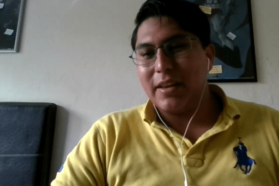 Miguel Ángel, estudiante de la Licenciatura en Actuaría del ITAM