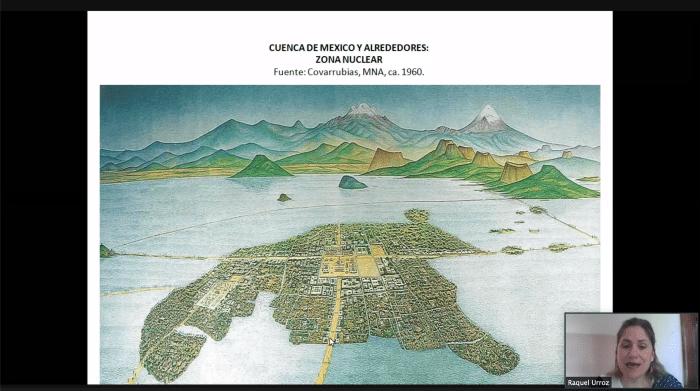 Tenochtitlán era una de las ciudades más grandes en el México prehispánico