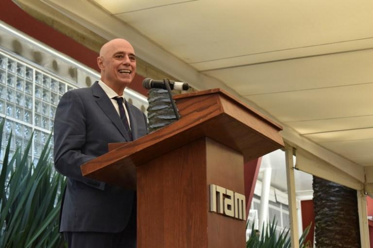 Dr. Arturo Fernández, Rector del ITAM.
