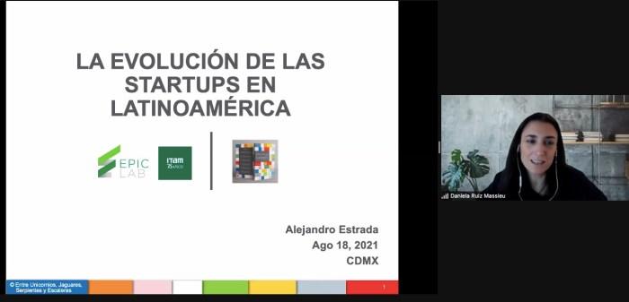 Daniela Ruiz Massieu, Directora del EPIC Lab ITAM, presentó al autor.Foto ITAM.