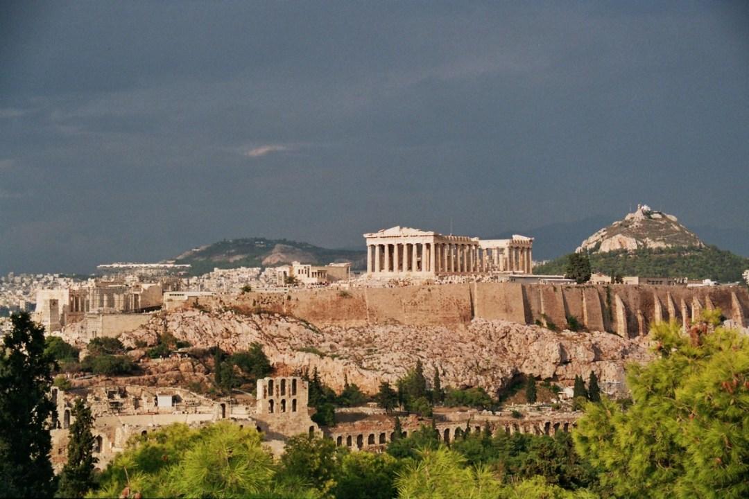 Acrópolis Atenas - Canon EOS500N