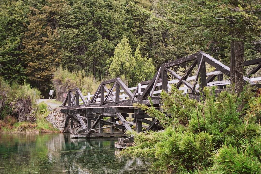 Puente de Madera - Canon EOS500N