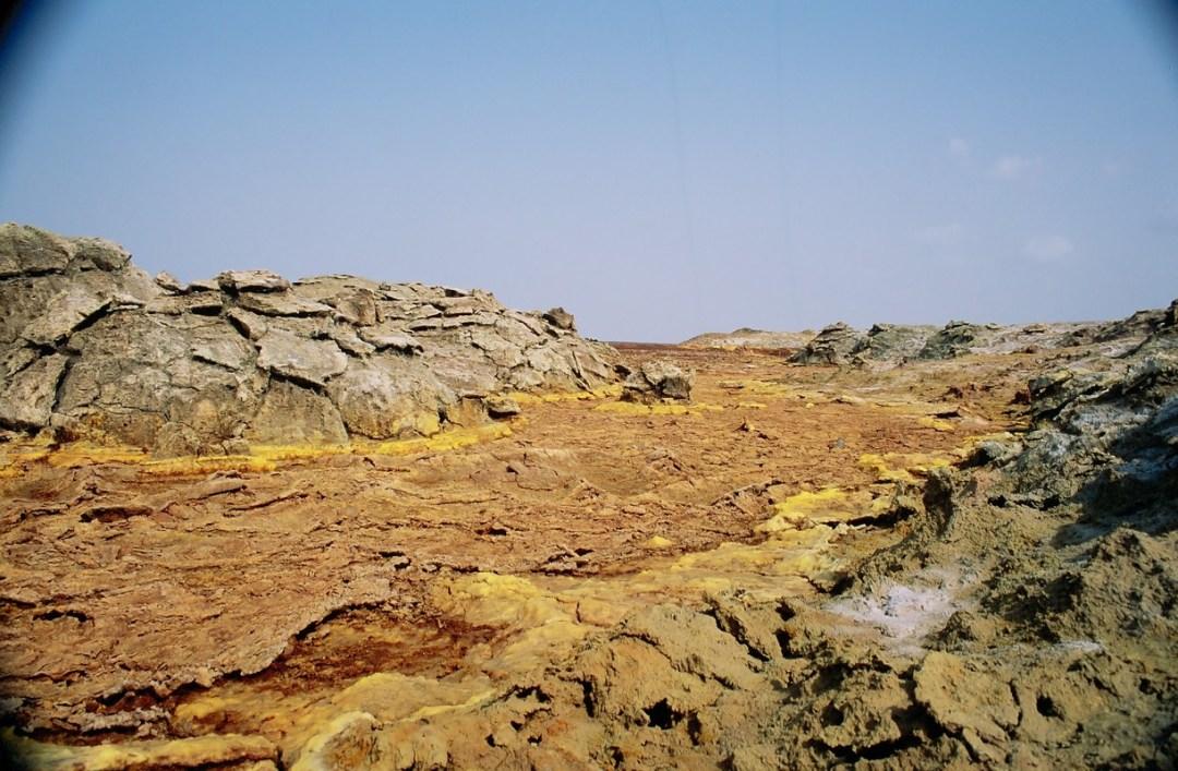 Tierra amarilla - Canon EOS500N - Kodakchrome 100 día ETIOPÍA