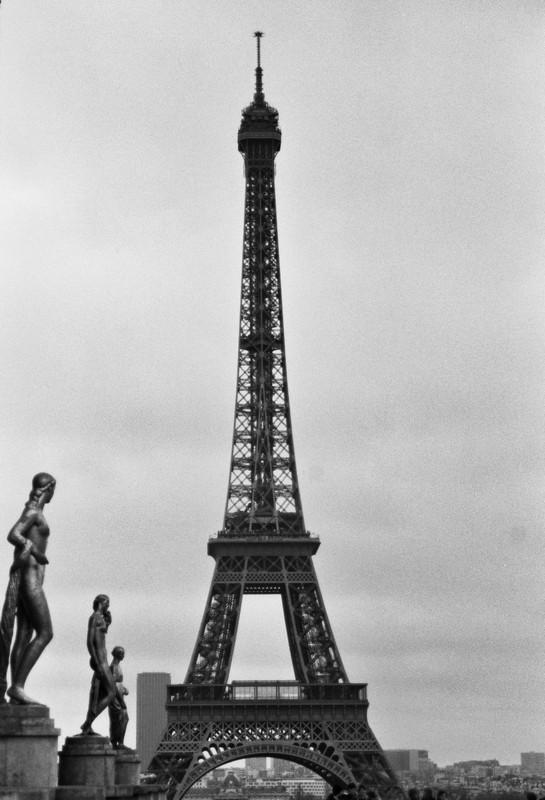 Torre Eiffel - Canon EOS500N - Ilford HP5