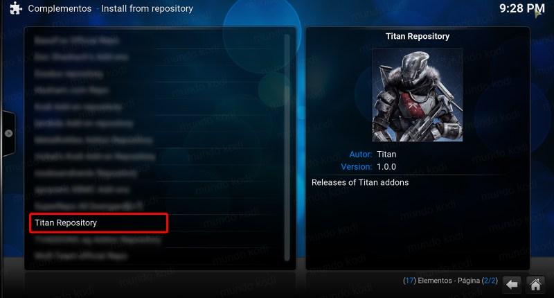 titan en kodi. 5 titan repository