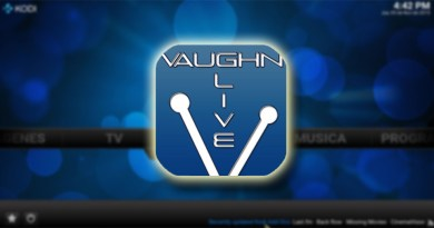 Addon Vaughn Live en Kodi