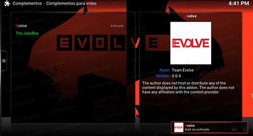 9 addon evolve en kodi
