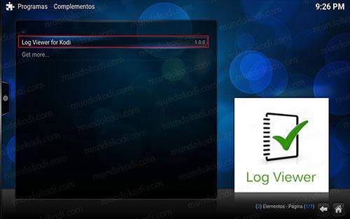 11 log viewer for kodi