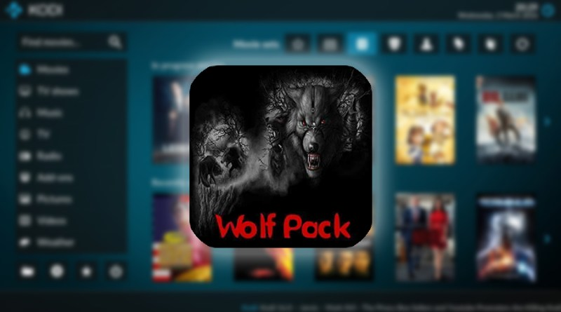 addon wolf pack en kodi