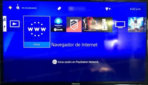 Ver TV, Películas y Series en PS4 con OTTPlayer
