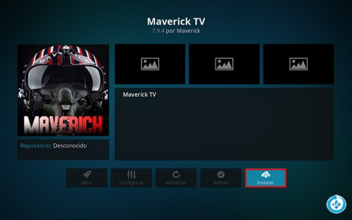 addon maverick tv en kodi