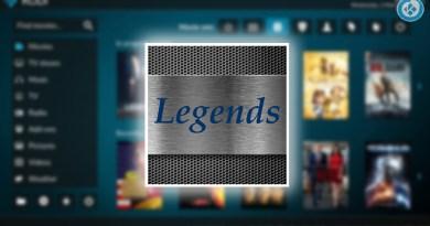 addon legends en kodi