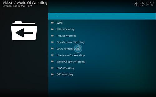 addon world of wrestling en kodi