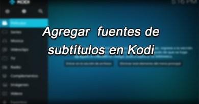 Cómo Agregar Fuentes A Los Subtítulos En Kodi