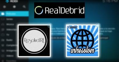 Cómo configurar Real Debrid en Kodi con URLResolver y ResolveURL