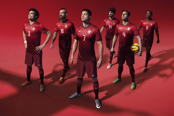 O novo uniforme da Seleção portuguesa para o Mundial 2014 - Jornal ... ae3b70ab75a4b
