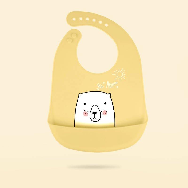 Babador de Silicone Bear