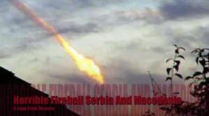 Terrible bola de fuego sobre Serbia y Macedonia, 14-Nov-2010