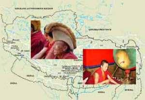 La visualización remota de monjes tibetanos ven poderes extra terrestres salvando al mundo de su propia destrucción en el 2012