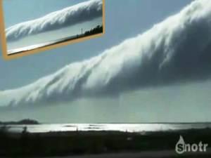 Vídeo de una gran nube 'Morning Glory'