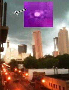 OVNI sobre el centro de Atlanta – 27 de junio 2011