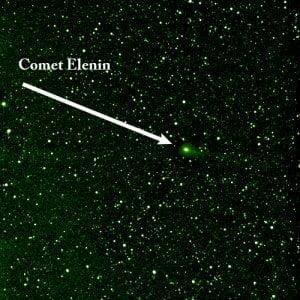 ¿Se desintegra el Cometa Elenin? 30 agosto, 2011