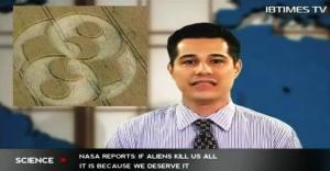 NASA Informa: si los extraterrestres nos mataran a todos es porque nos lo merecemos