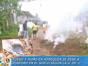 Extraño fenómeno en Colombia, América del Sur – Humo desde la tierra – 29 de septiembre 2011