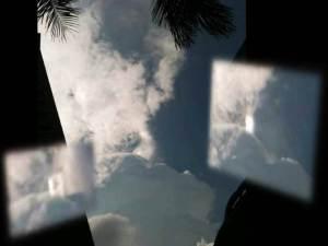 Extraño fenómeno en las nubes sobre Singapur – 15 de agosto 2011