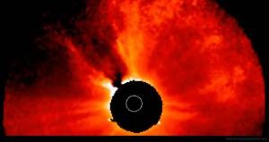 Potente Erupción solar clase M9 y CME Dirigida a la Tierra – 23 de enero 2011