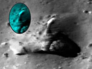 ¿Tubería en la Luna en suelo del cráter Tycho?