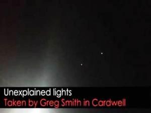 Luces inexplicables grabadas en vídeo en Cardwell en el norte de Queensland