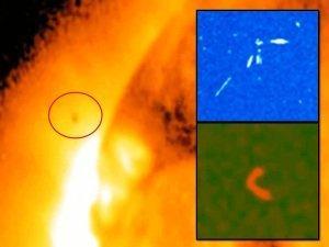 Anomalías y OVNIS cerca del Sol – 02 de enero 2013