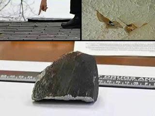 Meteorito se estrella a través del techo de la casa en Connecticut – 20 de abril 2013