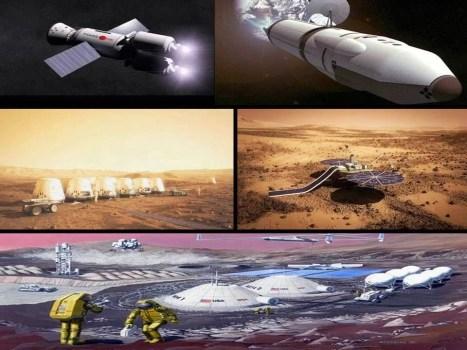 Exploración humana en Marte – NASA vs Proyecto Mars One