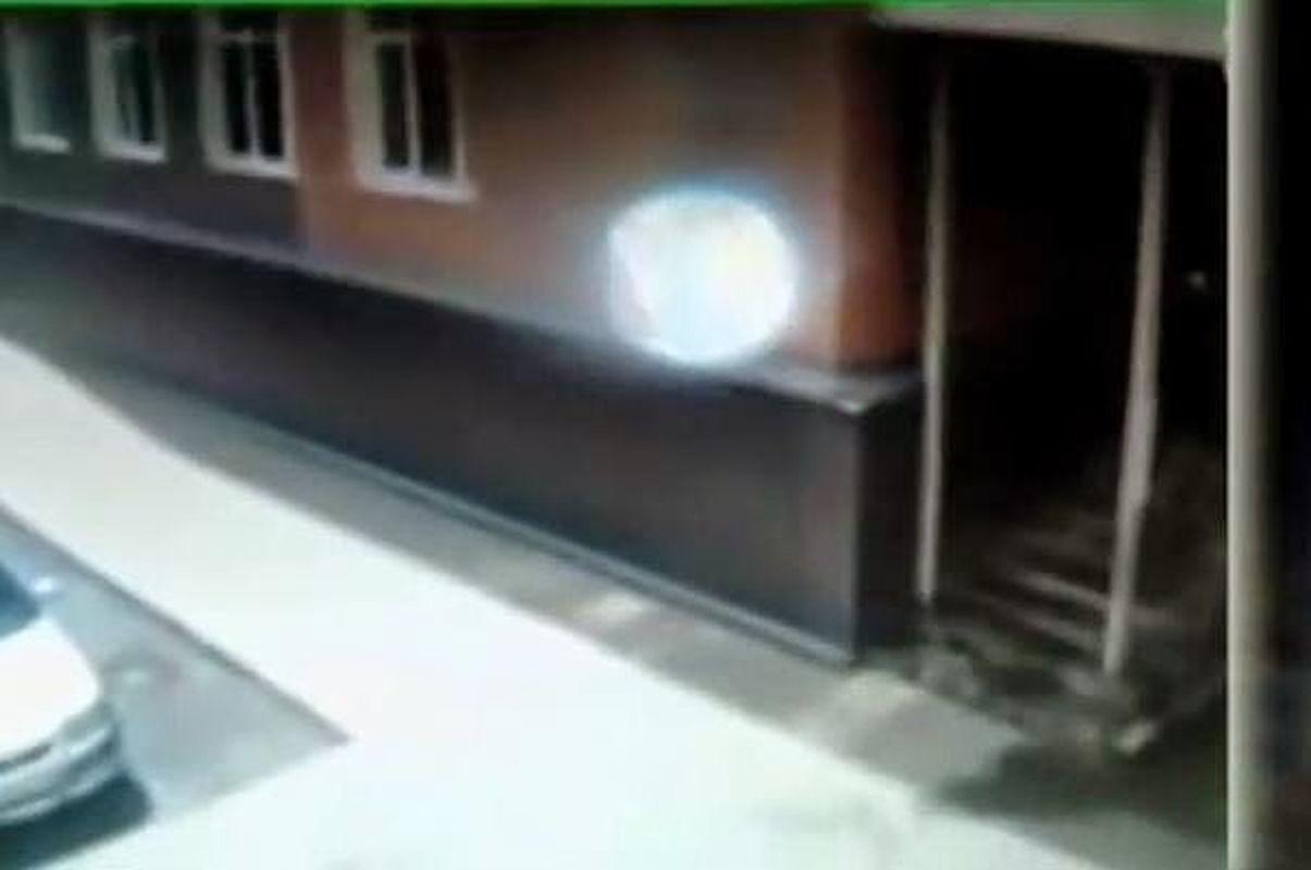 Cámara CCTV graba esfera de energía en Kemerovo, Rusia