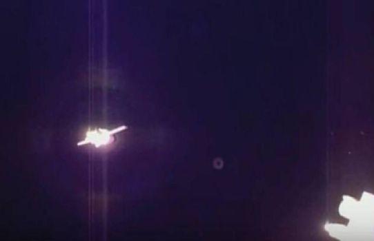 OVNI en el acoplamiento de la Soyuz TMA-19M