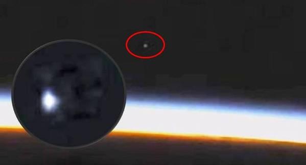 Objeto volador no identificado entra en la atmósfera de la Tierra