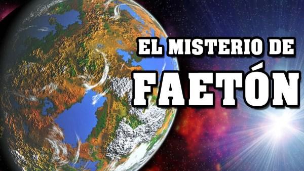 ¿Existió el planeta FAETÓN y acabó con la vida en MARTE?