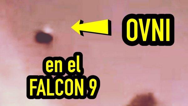 ¿Qué Hacía Un OVNI En La Explosión Del Cohete Falcon 9?