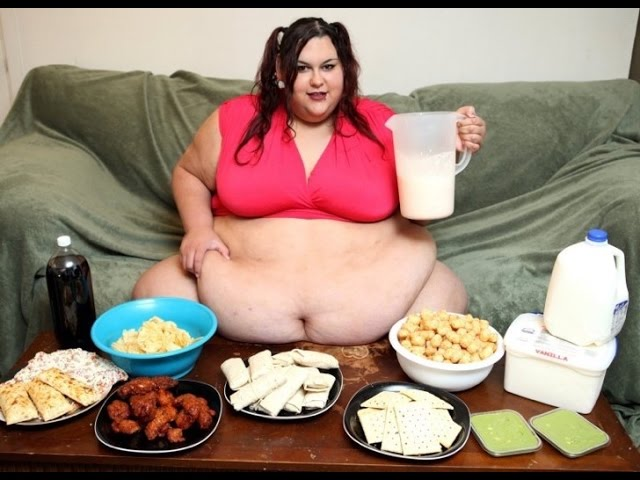 Mónica Riley la Chica que Quiere Llegar a pesar 450 Kilos