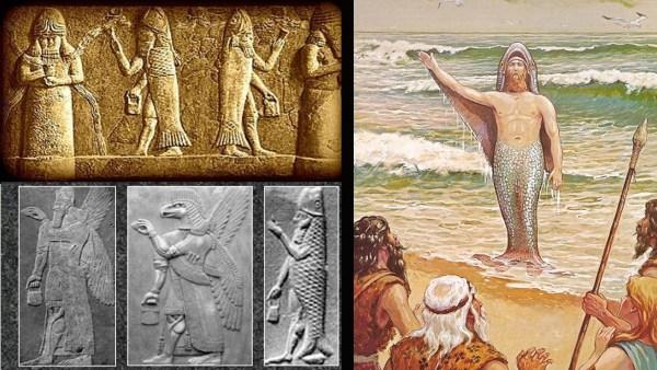 El misterio del dios Oannes y los 7 Sabios Apkallu