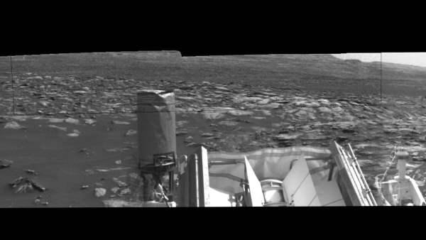 «Demonios de polvo» se cruzan en la ruta del rover Curiosity en Marte